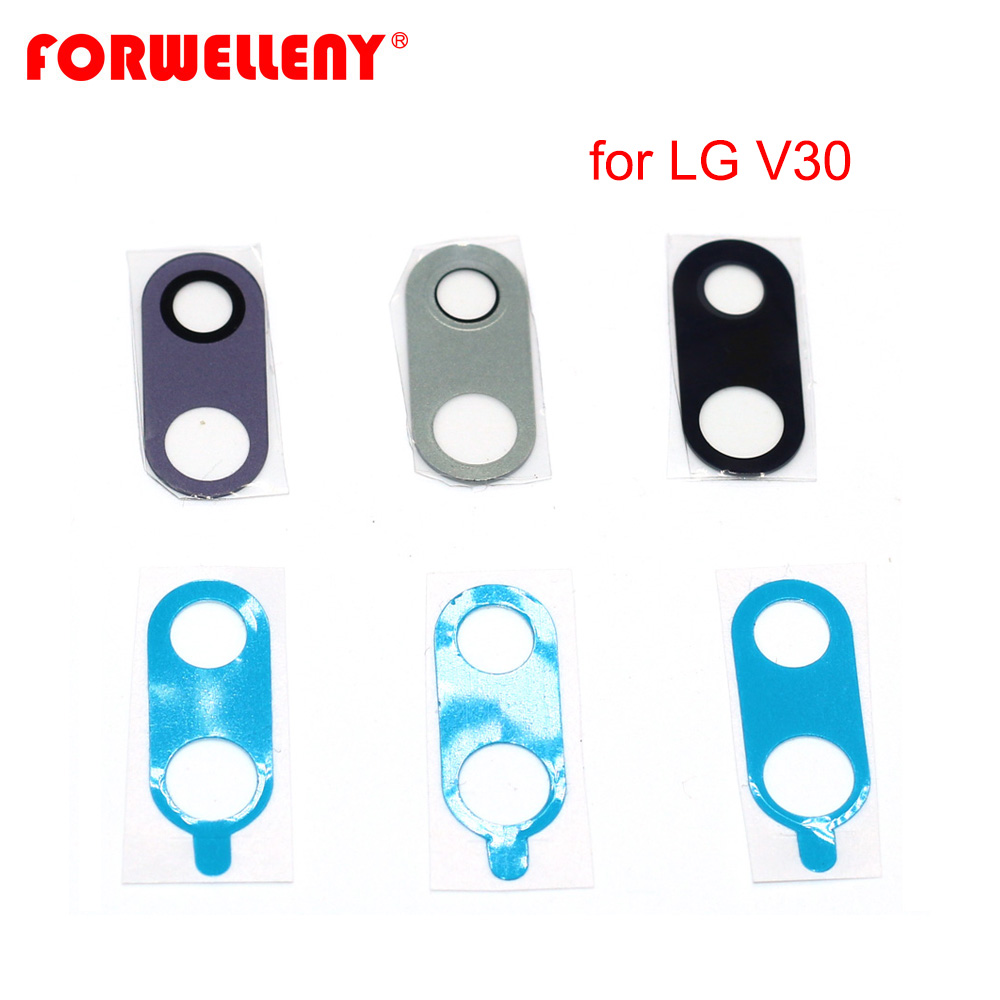 For LG V30 Rear Back Camera Lens Repair Cover Glass Replacement Parts H930 H933 H931 H932 VS996