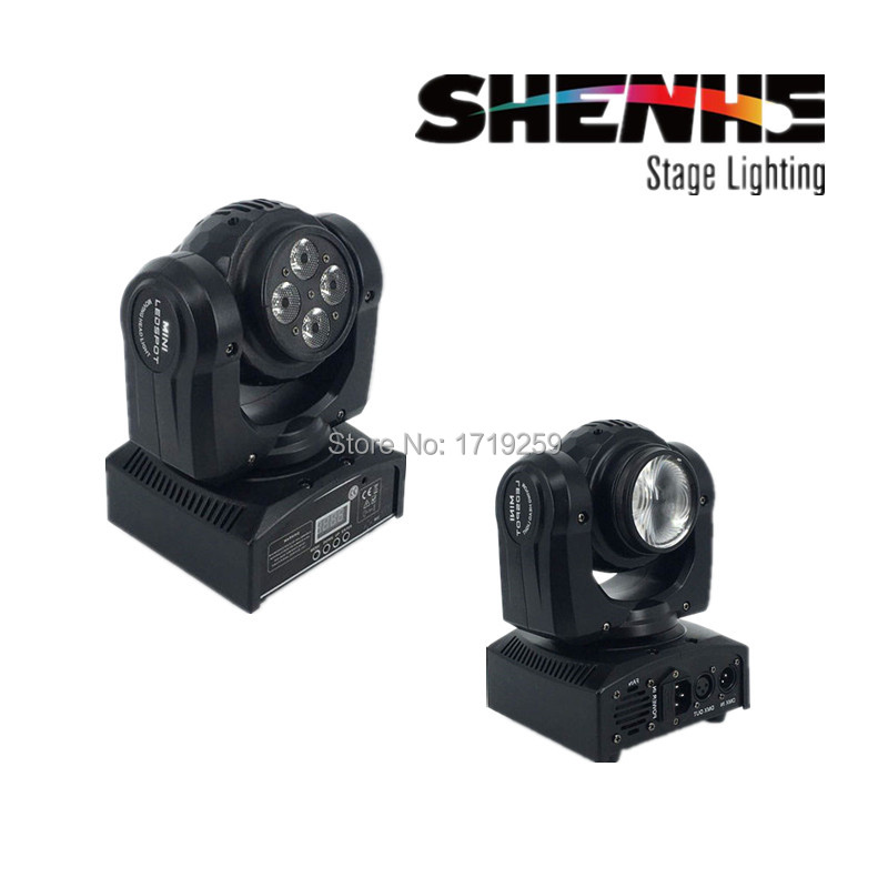 цены  LED 100W Beam Wash Double Sides RGBW DMX Stage Lights Moving Head High Power Light with Professional for Party KTV Disco DJ