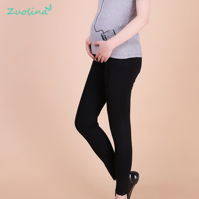 2016 hot Cheap Maternity Nine Leggings Modal  Elastic force Clothes For Pregnant Women pants Own production and sales of  F size