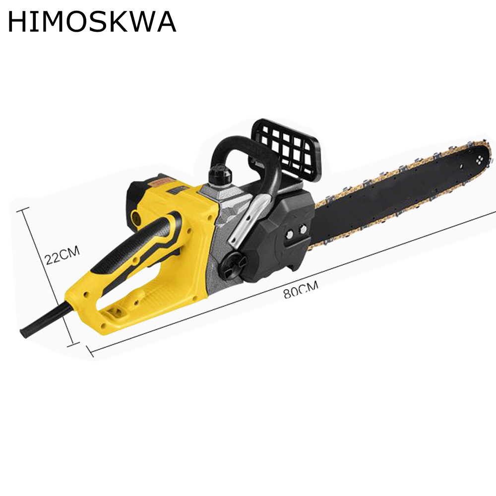 где купить HIMOSKWA Electric Chain Saws 3200W Chainsaw Logging Chainsaw Household Wood Chainsaw cutting machine по лучшей цене