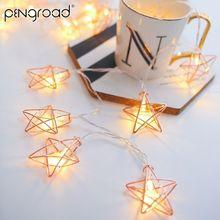 3 м светодиодный Сказочный светильник со звездами на батарейках светодиодный светильник для занавесок украшение на праздник год домашний мерцающий светильник s PD050