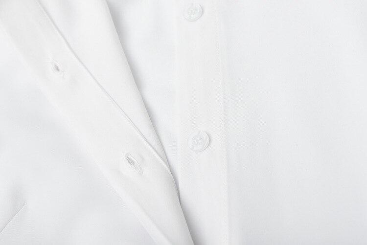 Haut Mince Revers Luxe Manches De Longues Mode Femmes Kenvy Robe Printemps Marque Blanc Gamme YDeHW9bE2I
