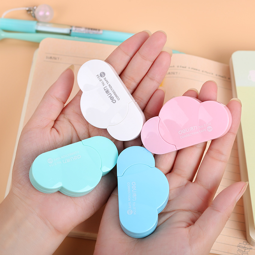 1PC Selling Hot Sweet Kawaii Mini Small Clouds Correction Tape Korean Stationery Novelty Office Kids School Supplies