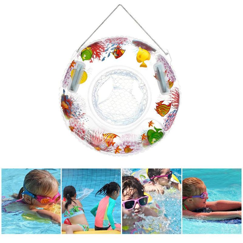 Cartoon 3D Sea World Kids Inflatable Swimming Ring Thicken Baby Floats Seat Thicken Swim Trainer Seat Inflatable Baby Boat