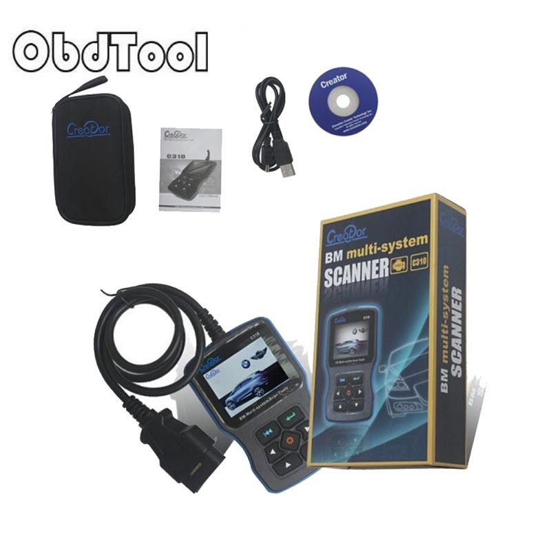 все цены на OBDTOOL 10% promotion Buy Creator C310 For Multi System Scan Tool V7.6 Free Update Online Creator C310 Scanner System Scanner