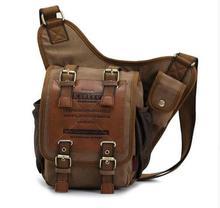 Heiße Verkäufe retro vintage leinwand reisetasche männer umhängetasche mann umhängetaschen taschen für männer