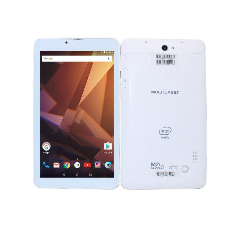 Распродажа! 7 дюймов RK3026 M7i-3G Quad Core 1024*600 Android 6.0 Планшеты PC 8 ГБ Встроенная память 1 ГБ Оперативная память Bluetooth + WiFi + сим-карты телефонный звонок Планшеты