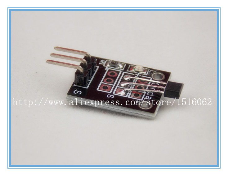 5PCS  Hall magnetic sensor module FOR ARDUINO