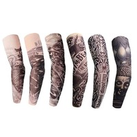 Fake tatto flash tatoo Waterproof Temporary Tattoo Sticker Body Art full arm large size sleeve tatoo Army Warrior for Men Women