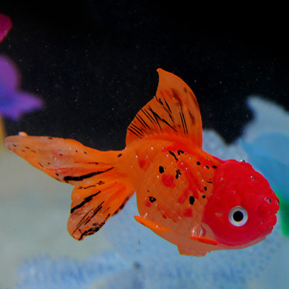 OnnPnnQ Decor Goldfish Aquarium Decoration Artificial Glowing Effect ...