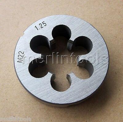 22 мм x 1.25 показателя правую руку умереть M22 x 1.25 мм шаг