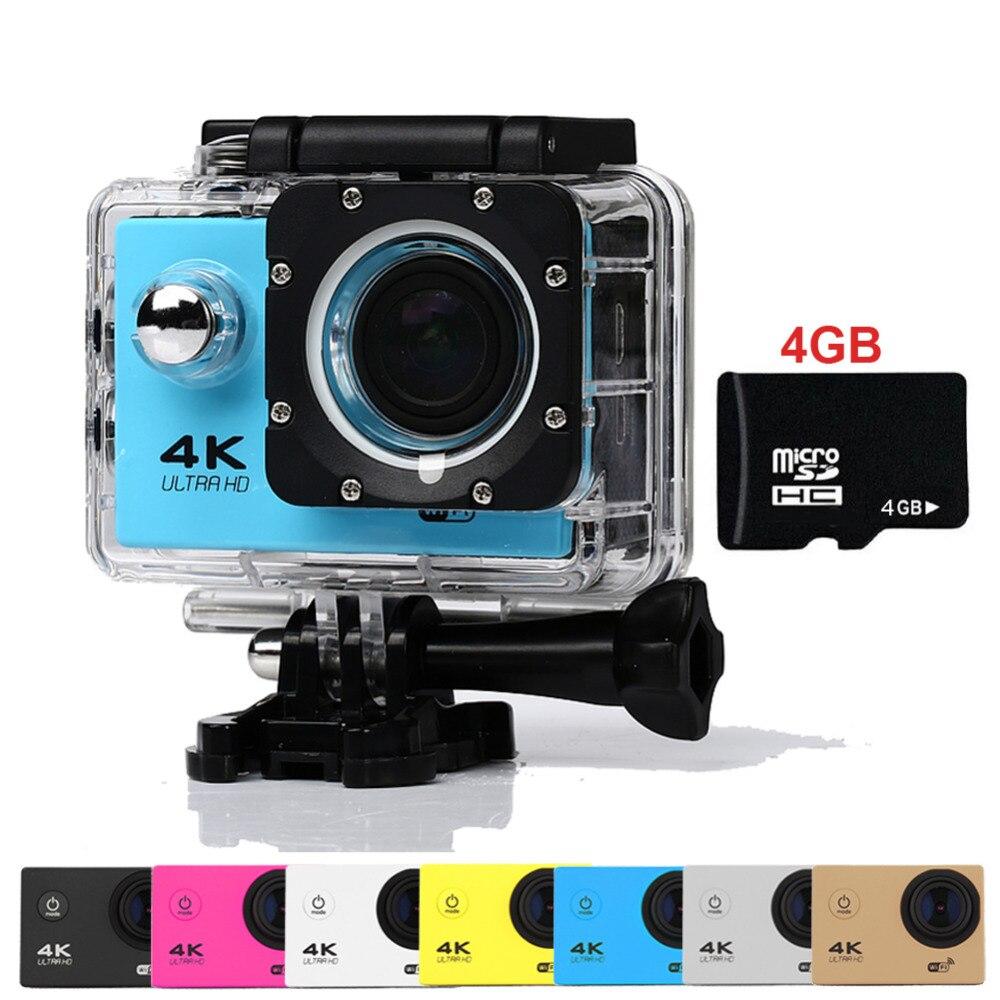 Goldfox Brand H9 Style Mini Action Digital camera deportiva DV Ultra HD 4K WiFi 1080P Sport 2 LCD go waterproof pro Cam Car DVR