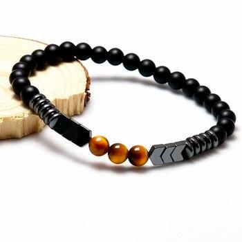 Bracelet Onyx Homme
