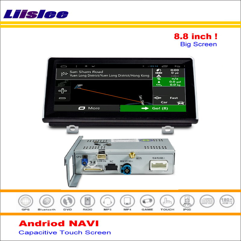 Liislee Car Android GPS Map NAV Navi Navigation System For BMW X1 2015~2016 Radio Stereo Audio Video Multimedia ( No DVD Player