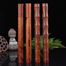 Rosewood rosewood oak barrel itself out fine mahogany Fragrant incense cone incense stick barrel lying incense cylinder pipe black rosewood and ebony incense box vertical wooden incense stoves send fragrant incense tube pin new