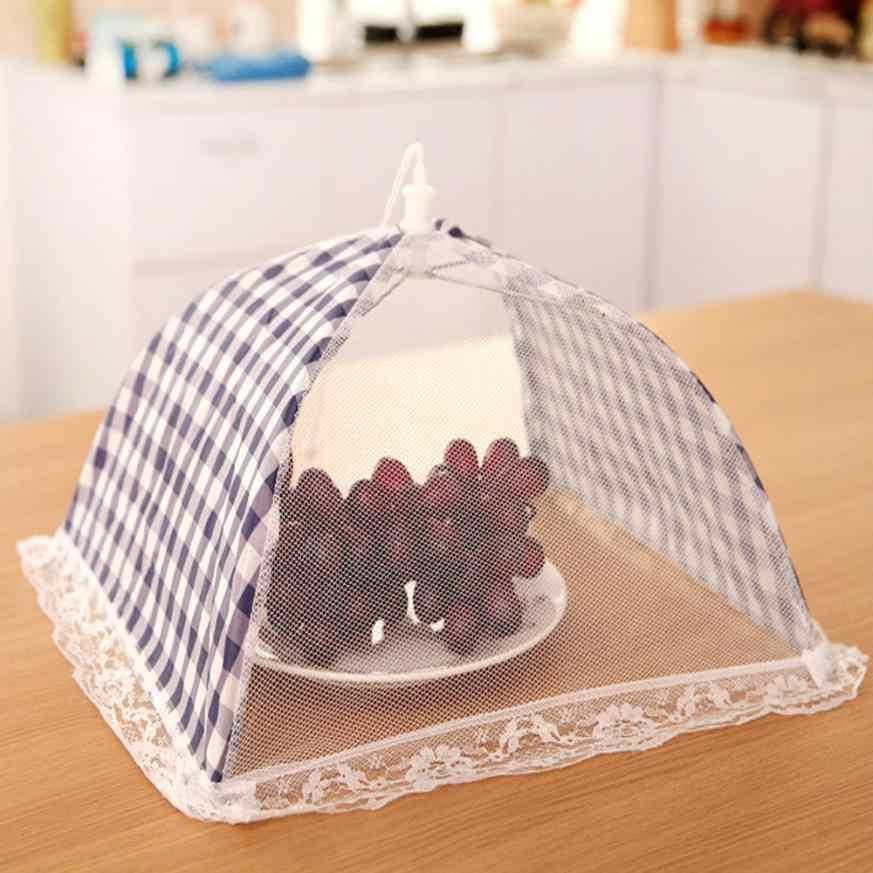 2018 accesorios de cocina cubierta de paraguas de comida Picnic barbacoa fiesta mosca mosquitera red carpa nuevas cubiertas de comida