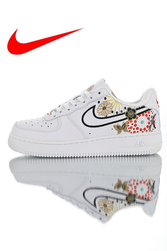 cc3dbbd2706 Original New Arrival Official Nike Air Force 1  LNY Lunar New Year  Women s  Breathable Skateboarding Shoes Trainers