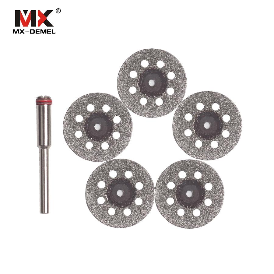 5 + 1 Rotary Tools Accessory Fits For Dremel Craftsman Diamond Cut Disc Disc Dremel Style Rotary Tool Power Tools
