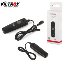 Viltrox 1M SR-R90 Remote Control Shutter Release Cable Cord for FUJIFILM X-PRO2 X70  X-T1 X-T10 X100T X-A2 X-M1 XQ2 X-E2