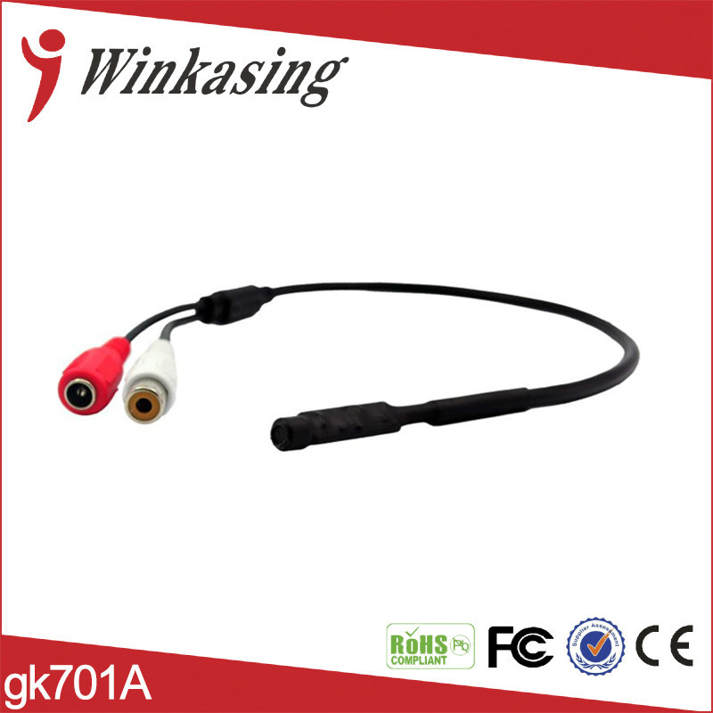 Audio Monitoring Device Cable Audio and video surveillance cameras pickup MicrophoneYJS ...