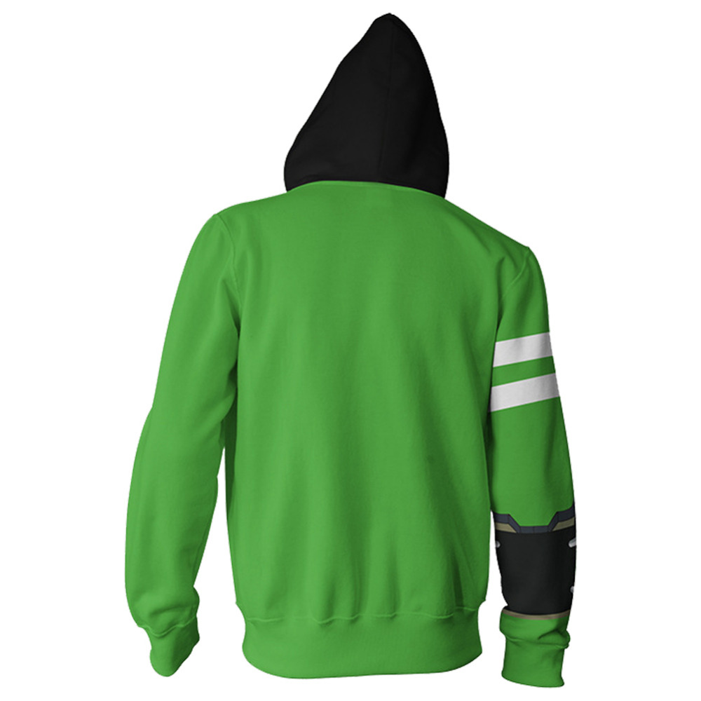 Cosplay Alien Force Ultimate Omnitrix Green Jacket Hoodie Benjamin Costume Sweatshirt Aliens Force Boys Hoodie