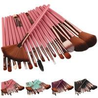 New Professional 18PCS/Set Makeup Brush Set Tools Women's Fashion Make-up Toiletry Kit Wool Make Up Brushes Set Pincel Maquiagem Health & Beauty
