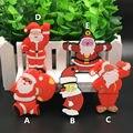Venda quente flash usb pendrive de 64 gb flash drive 32g16g8g4g Série de Papai Noel presentes de Natal cartão de memória flash memoria usb livre grátis