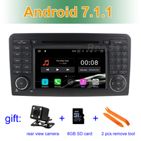 7 Inch Android 5 1 1 Car DVD Player For Mercedes Benz GL ML CLASS W164