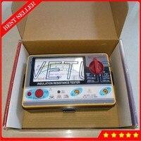 TY6045 Electrical Resistivity Measuring Instrument Pointer Resistance Tester Meter 1000V 500V 250V 100V Analog Insulation Tester