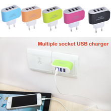 High Speed 3.1A Triple USB Port Wall Home Travel AC Charger Adapter Mobile Phone Charger For iphone X For Samsung Charging
