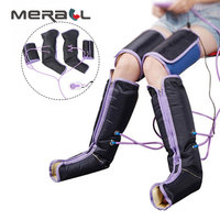 Air Compression Massage Leg Massager Electric Circulation Leg Wraps For Body Foot Ankles Calf Therapy