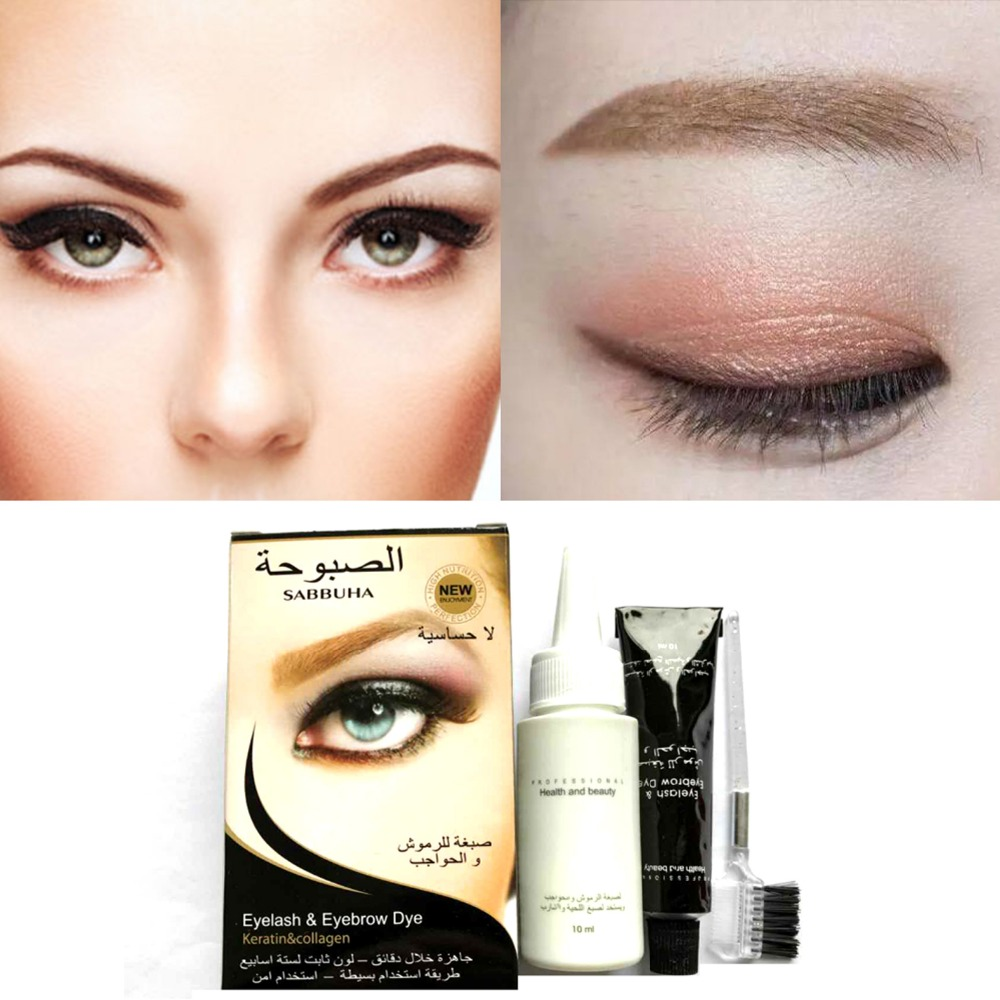 TANGLV Eyebrow Enhancer Plant essence cream Gel Super Lasting Waterproof Sweat Professional Eyebrow Tint Dye Makeup Tattoo
