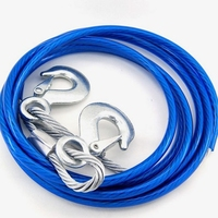 High Quality 5 Ton 4m Car Vehicle Tow Rope Towing Pull Strap Scratch Damping Rope With