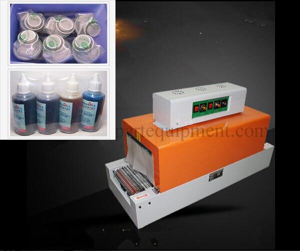 Máquina automática Do Psiquiatra Máquina de Filme Plástico Calor Tubo Do Psiquiatra Da Luva Do Psiquiatra Do PVC Para A Embalagem Do Produto - 2