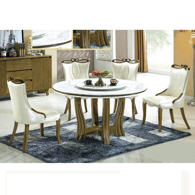 Italian Style Luxury 8 Seater Dinning Table Set Dining Chairs