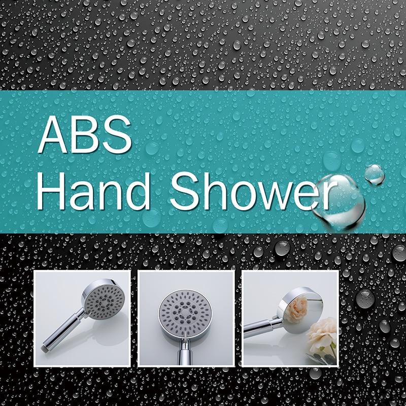 LOY 5 Function Adjustable Jetting Shower Filter High Pressure Water Saving Shower Head Handheld Water Saving Shower Nozzle