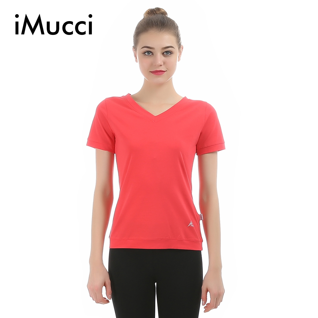 Online buy wholesale ballet shirt from china ballet shirt for Ballet neck tee shirts