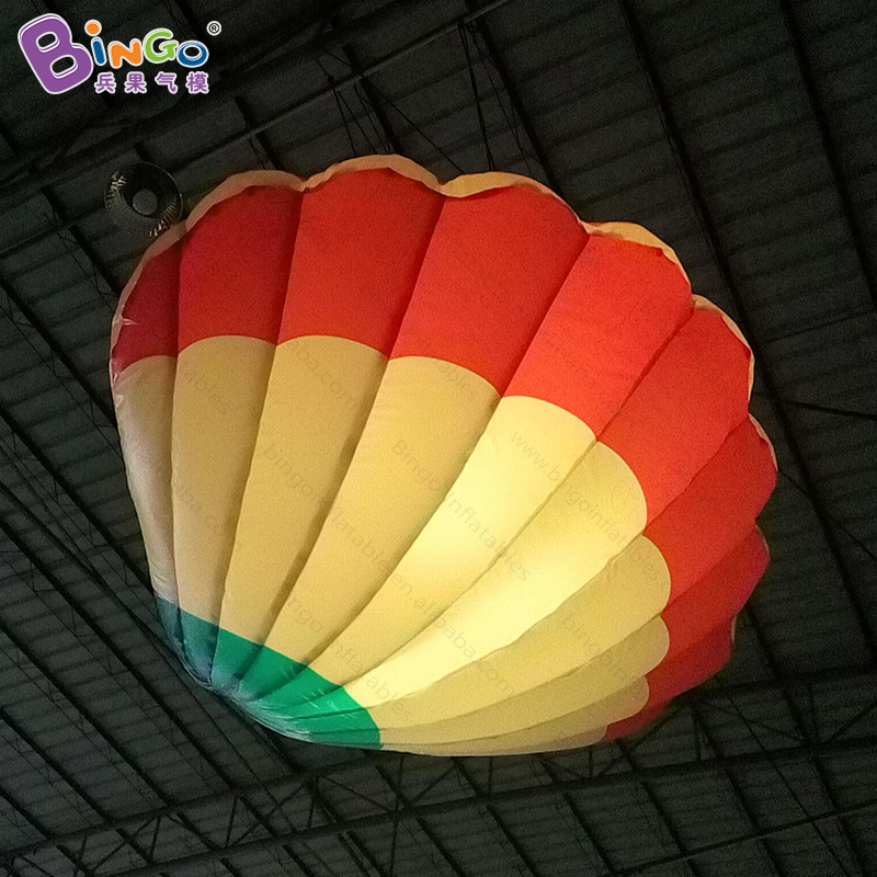 Free shipping 1.57m LED inflatable shell light for ocean theme event decoration inflatable lighting seashell for wedding party free shipping lighting large inflatable spider tent for party event exhibition rental