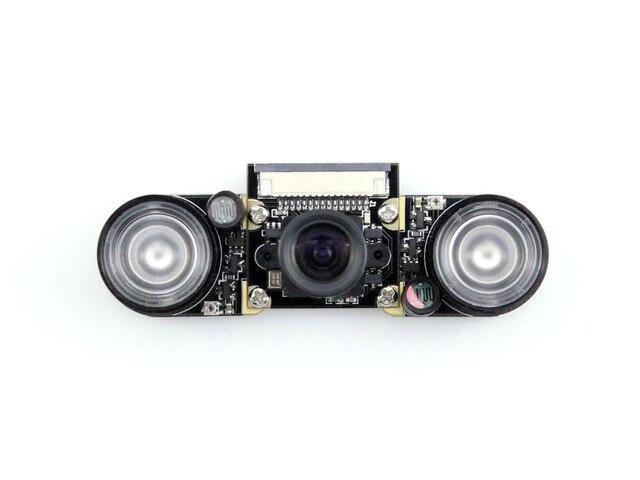 RPi Camera (F) Raspberry Pi Camra for Model A+/B/B+/2 B Night Vision Camera Module 5MP OV5647 Webcam Video 1080p Camera Kit