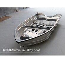 K-style лодка из алюминиевого сплава, лодка для рыбалки, скоростная лодка, штурмовая лодка, модная лодка, скоростная лодка, водные виды спорта, развлечения