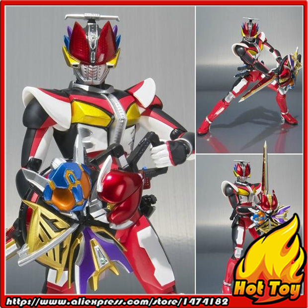100% Original BANDAI Tamashii Nations S.H.Figuarts (SHF) Action Figure - Kamen Rider Den-O Liner Form from