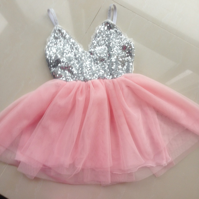 fashion skirt product skirts gold dhgate shinny tulle com s sequins cnbestwholesle dress lace short silver girl baby party from children tutu