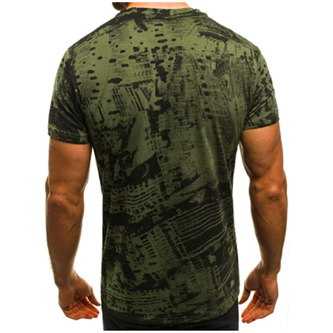Summer T Shirt Men Military Printing O-Neck Top Tee Casual Fashion tee shirt homme Brand Fitness Tshirts Male Short Sleeve M-3XL Lahore