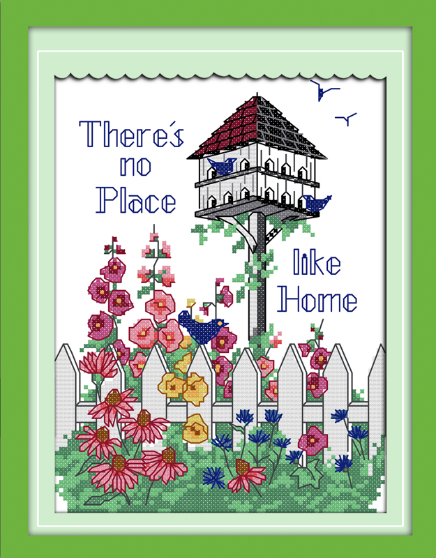 Amiable Warm Harbor Counted Cross Stitch 11ct Printed 14ct Set Diy Chinese Cotton Cross-stitch Kit Embroidery Needlework Do You Want To Buy Some Chinese Native Produce? Cross-stitch