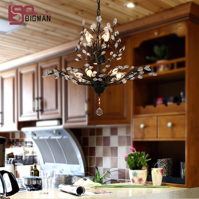 New country style chandelier crystal lamp for living room lustre de new country style chandelier crystal lamp for living room lustre de cristal indoor lighting aloadofball Images