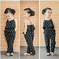 2016 Fashion Kids Baby Girls Clothes Sleeveless Jumpsuit Trousers Romper Outfits Summer Clothes for Little Girls