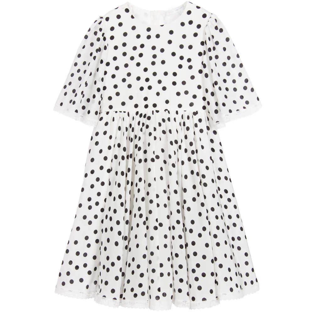 Girl Dress Summer 2017 Brand Kids Dress Printing Dot Robe Enfant Fille Princess Dress Girls Clothes For Party Kids Clothing fashion girl party dress princess dress for girls flower bow kids dress tribute silk floral girls clothes robe fille enfant 2 8t