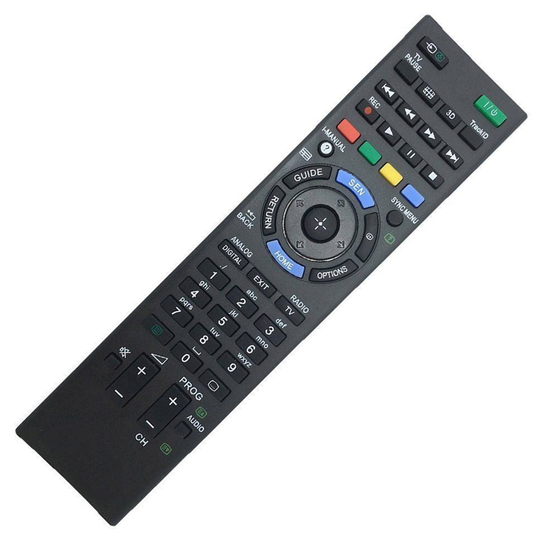New remote control rm ed047 for sony bravia tv kdl 40hx750 kdl different displays may cause the color of the item in the picture a little different from the real thing the measurement allowed error is 1 3cm fandeluxe Images