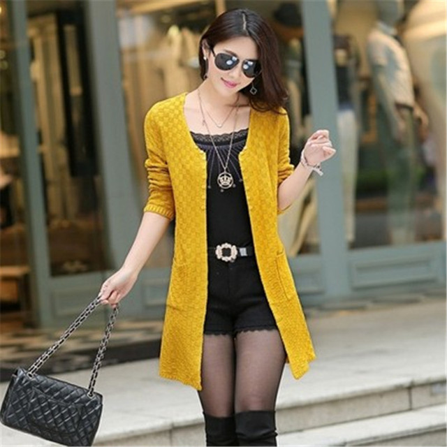 2017 New Six Colour Caot Summer Style Long Sleeve Thin Knitted ...
