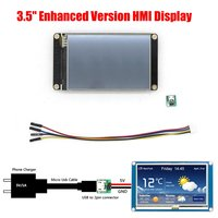 Nextion Enhanced 3.5 Inch HMI Intelligent Smart USART UART Serial Tou ch TFT LCD NX4832K035 Test Board Display Panel LCD Module